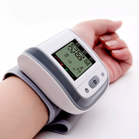 Wrist Blood Pressure LCD Digital Monitor Health Care Machine