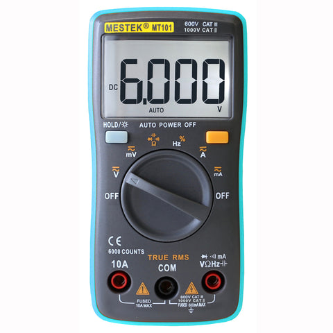 Digital Multimeter Voltmeter Ammeter tester voltage tester volt meter electric testing