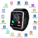 Bluetooth Smartwatch with SIM Card Slot and 2.0MP Camera for iPhone Android Phones