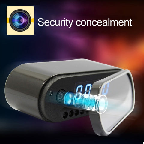 Mini Clock Spy Camera Alarm P2P Live cam IR Night Vision