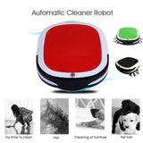 Smart Auto Vacuum Cleaning Robot With Rechargeable Electric Battery Wet and Dry