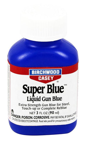 BIRCHWOOD CASEY Super Blue Liquid Gun Blue 3oz - SKU: BW13425, birchwood-casey, ebay, Gunsmithing-Supplies, metal-preparation-finishing, under-50