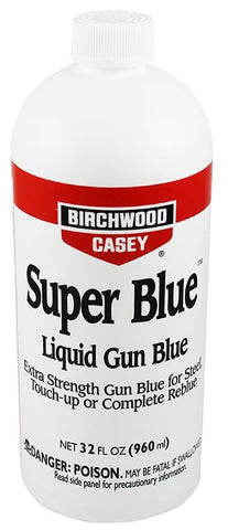 BIRCHWOOD CASEY SUPER BLUE LIQUID GUN BLUE 32OZ - SKU: BW13432, 100-200, birchwood-casey, ebay, Gunsmithing-Supplies, metal-preparation-finishing