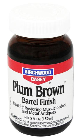 BIRCHWOOD CASEY Plum Brown Barrel Finish 5oz - SKU: BW14130, birchwood-casey, ebay, Gunsmithing-Supplies, metal-preparation-finishing, under-50