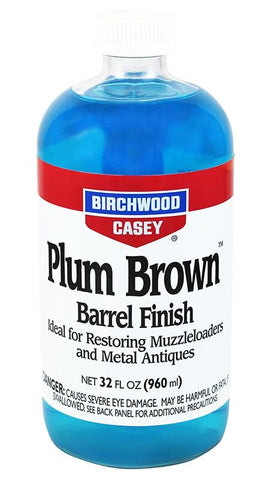 BIRCHWOOD CASEY PB-QT Plum Brown Barrel Finish 32oz - SKU: BW14145, 50-100, birchwood-casey, ebay, Gunsmithing-Supplies, metal-preparation-finishing