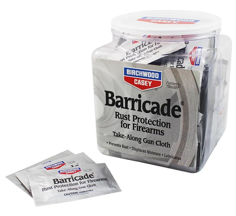 BIRCHWOOD CASEY Barricade Cloths x 100 Plastic Bowl - SKU: BW33170, 50-100, birchwood-casey, ebay, Gun-Cleaning, lubricants-protectants, Shooting-Gear