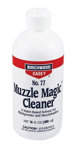 BIRCHWOOD CASEY Muzzle Magic No. 77 Cleaner 16oz - SKU: BW33745, birchwood-casey, ebay, Gun-Cleaning, lubricants-protectants, Shooting-Gear, under-50