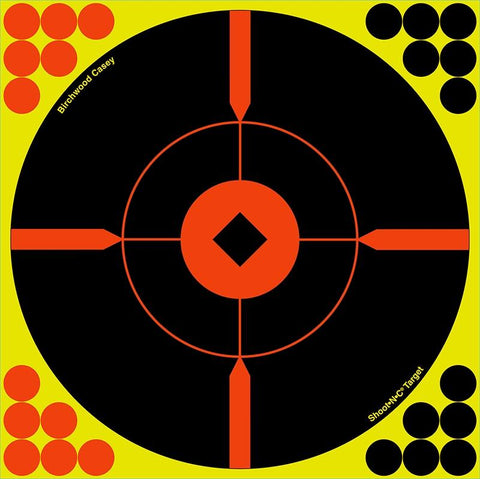 BIRCHWOOD CASEY Shoot.N.C 12IN Round X - 5 Sheets - SKU: BW34015, Amazon, birchwood-casey, ebay, paper-targets, Shooting-Gear, Targets-Target-Holders, under-50