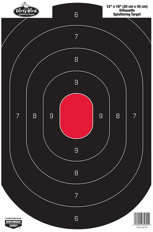 BIRCHWOOD CASEY DirtyBird 12INx18IN Silhou - 8 Sheets - SKU: BW35608, Amazon, birchwood-casey, ebay, paper-targets, Shooting-Gear, Targets-Target-Holders, under-50