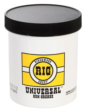 BIRCHWOOD CASEY RIG Universal Grease 12oz jar - SKU: BW40045, birchwood-casey, ebay, Gun-Cleaning, lubricants-protectants, Shooting-Gear, under-50