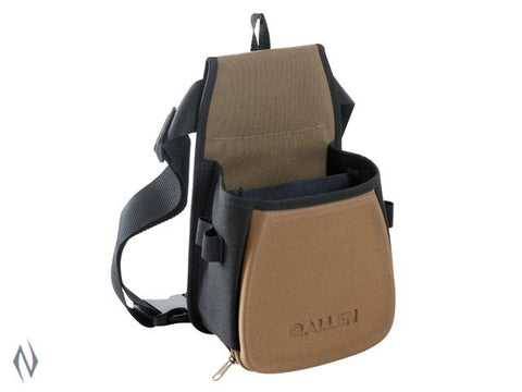 ALLEN ELIMNATOR DOUBLE SHOTSHELL BAG WITH BELT - SKU: AL8303, allen, ammunition-carriers, ebay, Shooting-Gear, under-50