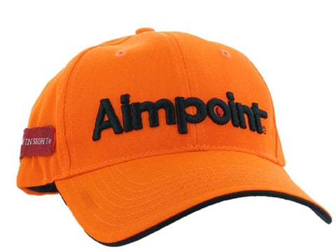 Aimpoint Cap - Orange - SKU: AP-G0013, aimpoint, Amazon, Apparel, ebay, headwear, Size-, under-50