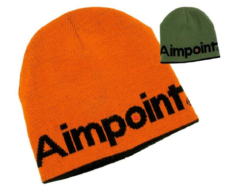 Aimpoint Beanie Rvrsble Grn/Orange - SKU: AP-G0034, aimpoint, Amazon, Apparel, ebay, headwear, Size-, under-50