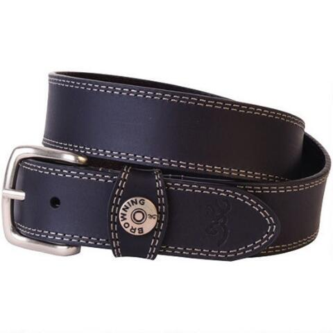 BROWNING SLUG BELT BLACK - SIZE 44 - SKU: BBE101009.44, 50-100, Amazon, Apparel, belts, browning, ebay, size-44