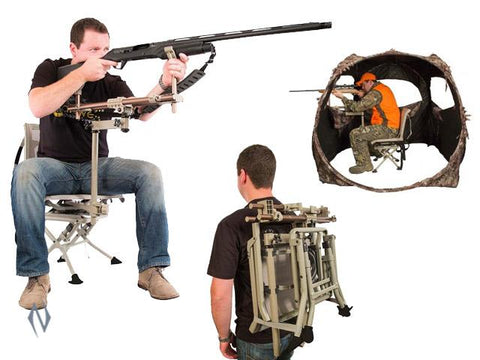CALDWELL DEADSHOT CHAIRPOD - SKU: CALD-DC, 200-500, Bipods-Monopods-Tripods, caldwell, ebay, monopods, Shooting-Gear