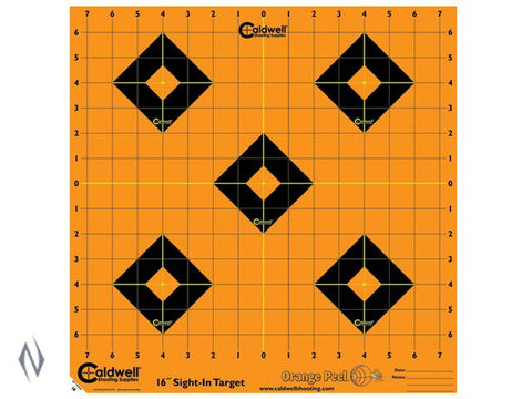 CALDWELL ORANGE PEEL SIGHT IN 16 INCH 5 PACK - SKU: CALD-OPS16, Amazon, caldwell, ebay, paper-targets, Shooting-Gear, Targets-Target-Holders, under-50