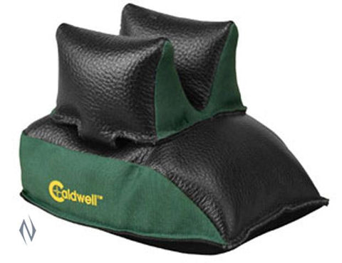 CALDWELL REAR BAG BLACK LEATHER FILLED - SKU: CALD-RBAGF, 50-100, caldwell, ebay, Shooting-Gear, shooting-rests-bags