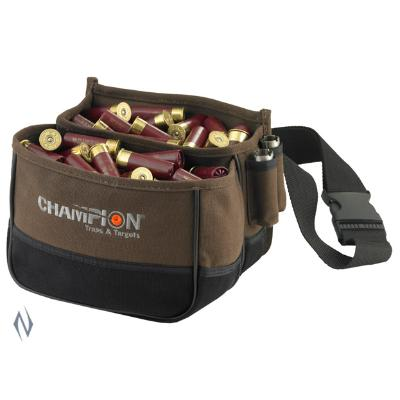 CHAMPION SHOTSHELL POUCH HOLDS 50 - SKU: CH45852, 50-100, ammo-magazine-pouches, champion, ebay, Shooting-Gear