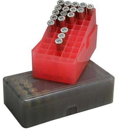 MTM - 50 RD SLIP TOP AMMO BOX SQUARE - SKU: E-50-38-29, ammo-boxes, ebay, mtm, Reloading-Supplies, under-50