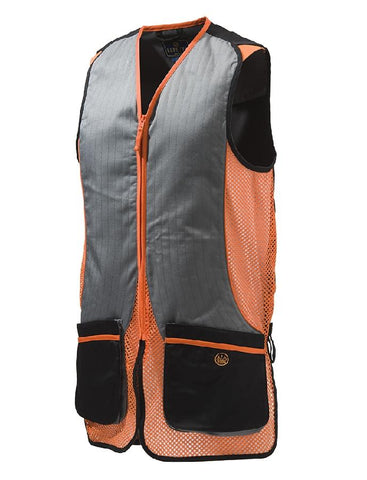 BERETTA - Silver Pigeon Vest Black/Orange 2XL - SKU: GT031-02113-0945/2XL