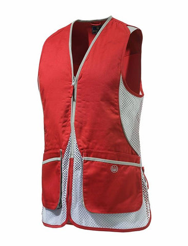 BERETTA - WomanINsßSilverßPigeonßVest Red 3XL - SKU: GT111-02113-0335/3XL