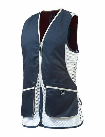 BERETTA - WomanINsßSilverßPigeonßVest Blue 2XL - SKU: GT111-02113-0543/2XL