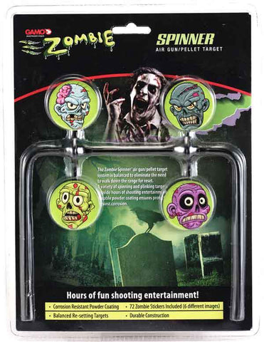 Gamo - Zombie Spinner target NEW 2012 - SKU: GZSTARGET, 50-100, Amazon, ebay, gamo, Shooting-Gear, target-systems, Targets-Target-Holders