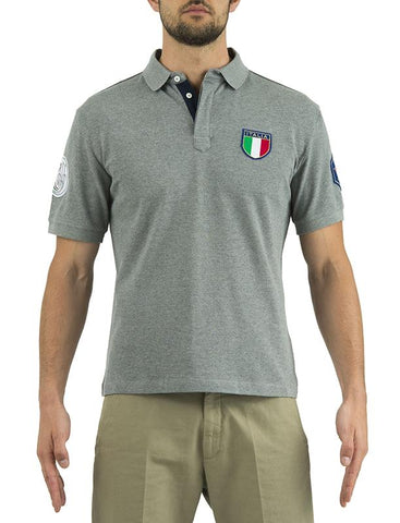 Uniform Pro Polo ITALIA Grey L - SKU: MT23-7102-0905/L - Size: Large, 50-100, Amazon, Apparel, beretta, ebay, polo-shirts, size-large
