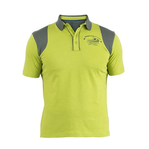Cotton&Mesh Polo Green&Grey L - SKU: MT24-7238-075P/L - Size: Large, 50-100, Amazon, Apparel, beretta, ebay, polo-shirts, size-large