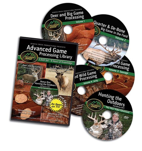 BERETTA 5 DVD-GAME PROCESSING LIBRARY - SKU: OE-AP-101, 100-200, Amazon, beretta, ebay, game-care-handling, Hunting-Gear