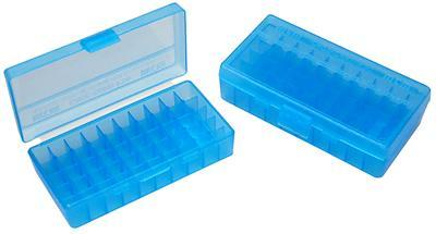 MTM - 50 RD HINGED TOP AMMO BOX 4144 - SKU: P50-44-24, ammo-boxes, ebay, mtm, Reloading-Supplies, under-50