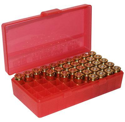 MTM - 50 RD HINGED TOP AMMO BOX 4144 - SKU: P50-44-29, ammo-boxes, ebay, mtm, Reloading-Supplies, under-50