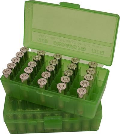 MTM - AMMO BOX 50RD FLIP TOP 45ACP - SKU: P50-45-16, ammo-boxes, ebay, mtm, ReloAding-Supplies, under-50