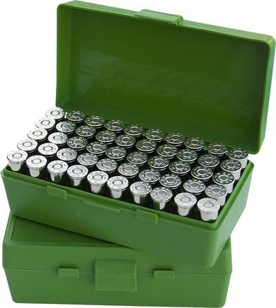 MTM - 50 RD HINGED TOP AMMO BOX 9MM3 - SKU: P50-9M-10, ammo-boxes, ebay, mtm, Reloading-Supplies, under-50