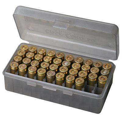 MTM - 50 RD HINGED TOP AMMO BOX 4144 - SKU: PL-4-41, ammo-boxes, ebay, mtm, Reloading-Supplies, under-50