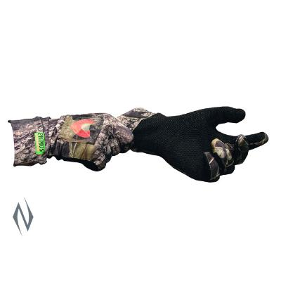 PRIMOS STRETCH FIT CALL GLOVE WITH SURE GRIP MOBU - SKU: PR6398, Amazon, Apparel, ebay, gloves-scarves, primos, Size-, under-50
