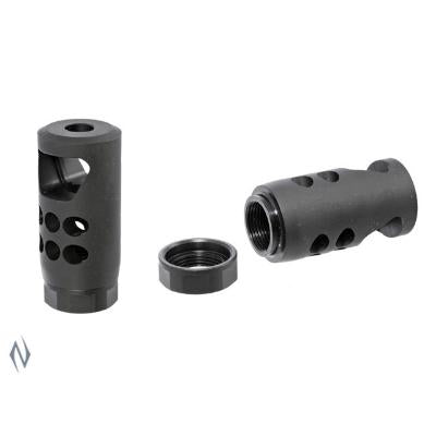 RUGER PRECISION RIFLE HYBRID 30 CAL MUZZLE BRAKE 5/8 - 24 NO CRUSH WASHER NEEDED - SKU: RP90590, 100-200, ebay, Firearm-Parts, Muzzle-Brakes, ruger, ruger-muzzle-brakes