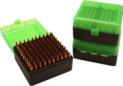 MTM - AMMO BOX 100 RD FLIP-TOP 223 - SKU: RS-100-16T, ammo-boxes, ebay, mtm, ReloAding-Supplies, under-50