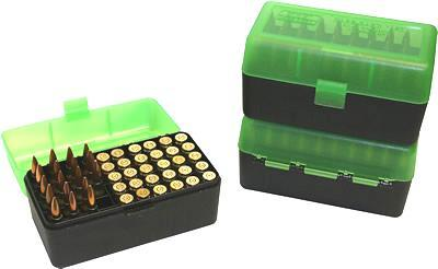 MTM - Flip Top 50rd Rifle - SKU: RS-50-16T, ammo-boxes, ebay, mtm, Reloading-Supplies, under-50