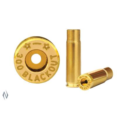 STARLINE BRASS 300 BLACKOUT 50PK - SKU: SL300BO, Components, Reloading-Supplies, starline, under-50, unprimed-cases