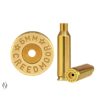 STARLINE BRASS 6MM CREEDMOOR 50PK - SKU: SL6MMC, 50-100, Components, Reloading-Supplies, starline, unprimed-cases