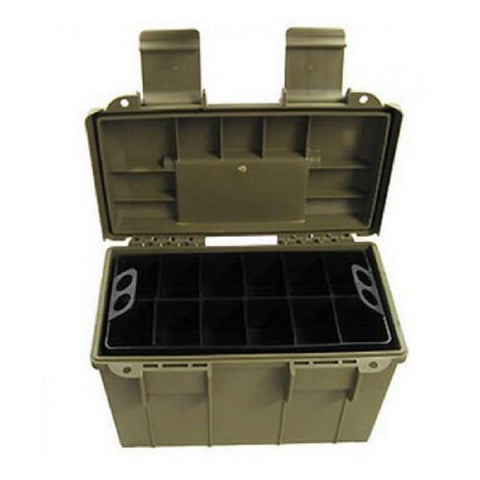 SMART RELOADER AMMO BOX #50 GREEN - SKU: VBSR625, 50-100, ammo-boxes, ebay, Reloading-Supplies, smart-reloader