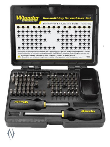 WHEELER SCREWDRIVER SET DELUXE GUNSMITHING 89 PCE - SKU: WH-DGSSPRO, 100-200, ebay, Gunsmithing-Supplies, gunsmithing-tools, wheeler