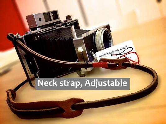 Leather camera Neck strap, Adjustable