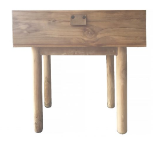 Aria Bedside table Natural