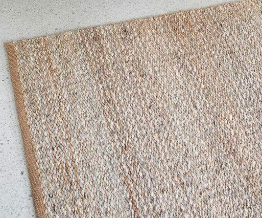 Armadillo&Co Kalahari Weave Natural and pumice Rug