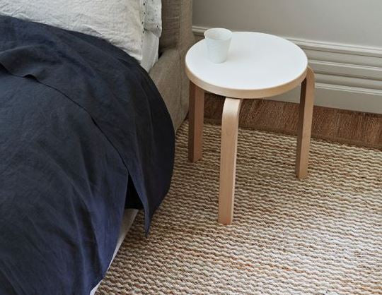 Armadillo&Co Kalahari Weave Natural and Chalk Rug