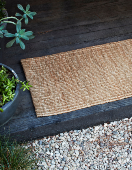 Armadillo&Co - Nest Hemp Weave Natural Mat