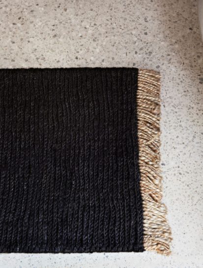 Armadillo & Co. - Sahara Weave Charcoal Mat