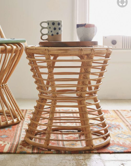Seacliff Rattan Side Table